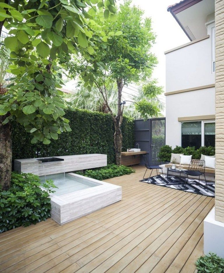 82 Privacy Garden Ideas To Reading Books And Relaxing 24 In 2020 Terrace Garden Design Backyard Garden Design Small Backyard Garden Design