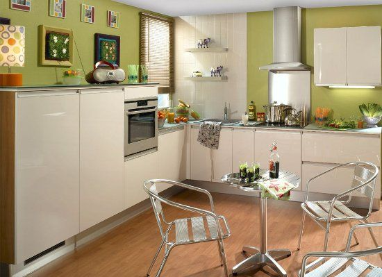 Delightful Clean And Simple Kitchen Design Pictures