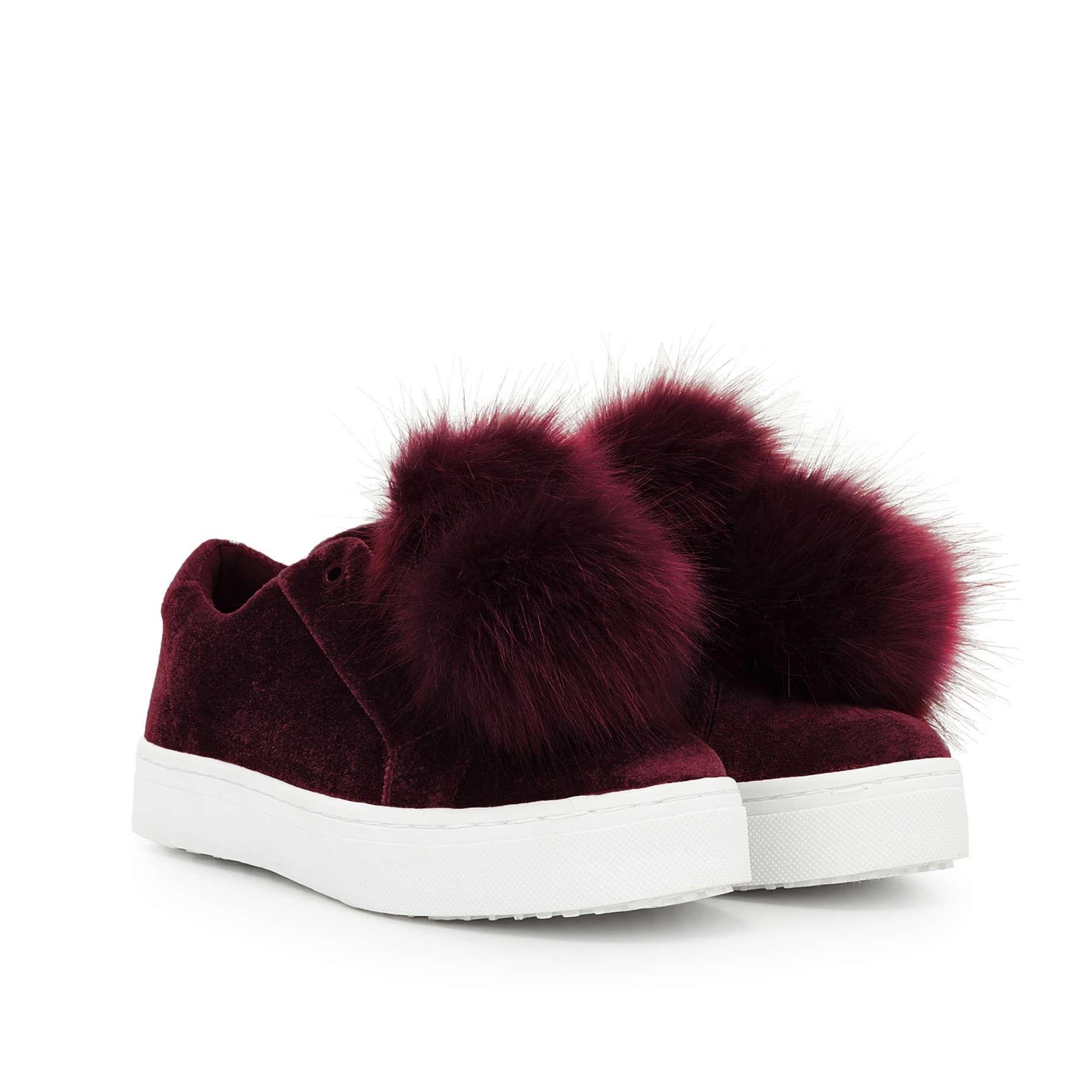 b7d65dbf4fd3 Leya Velvet Fur Sneaker Shoe by Sam Edelman - - View 1