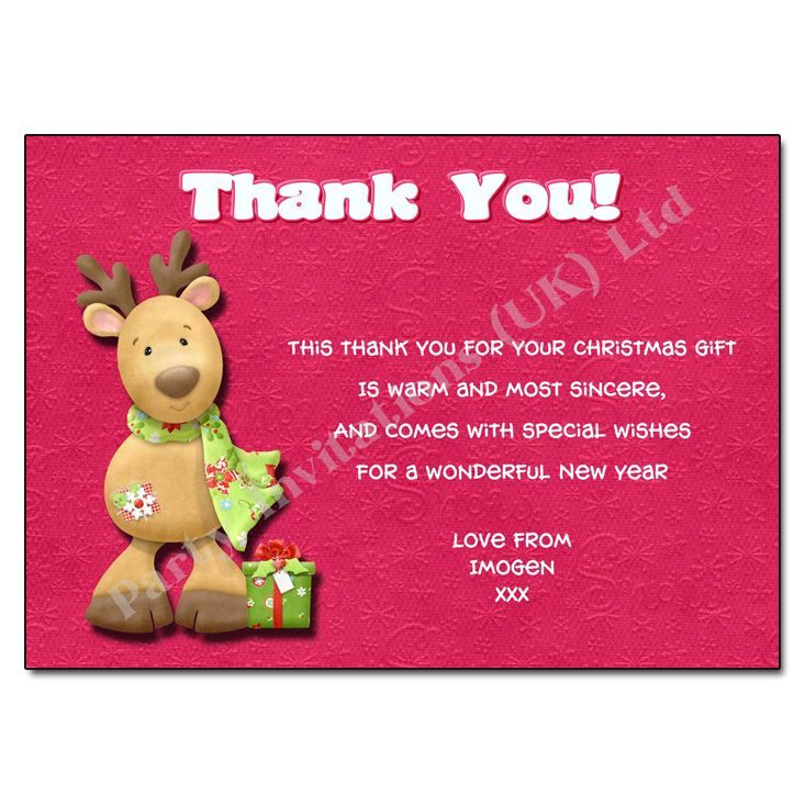 Christmas Thank You Letter New Calendar Template Site Notes