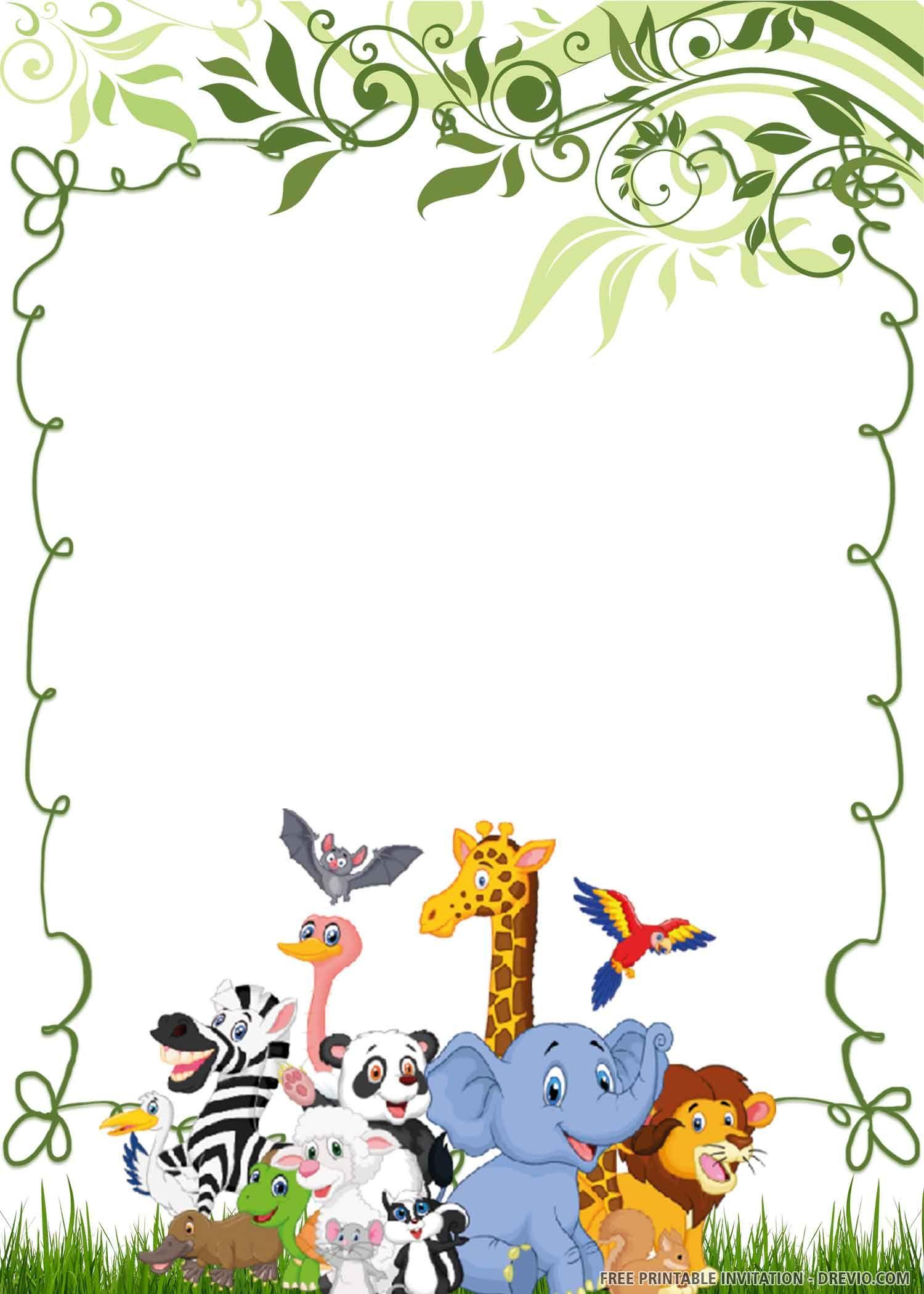 Free Printable Wild One Birthday Invitation Templates Kartu Ulang Tahun Kartu Ulang Tahun