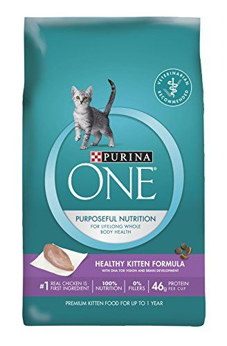 Purina One Healthy Kitten Formula Premium Dry Cat Food Find Out More About The Great Product At The Affiliate Link Ama Best Cat Food Kitten Food Dry Cat Food