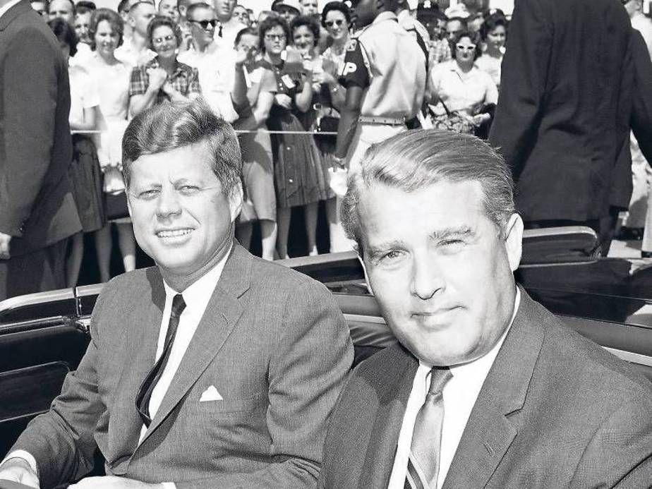 Werhner Von Braun Jack Kennedy Werhner Von Braun In Den