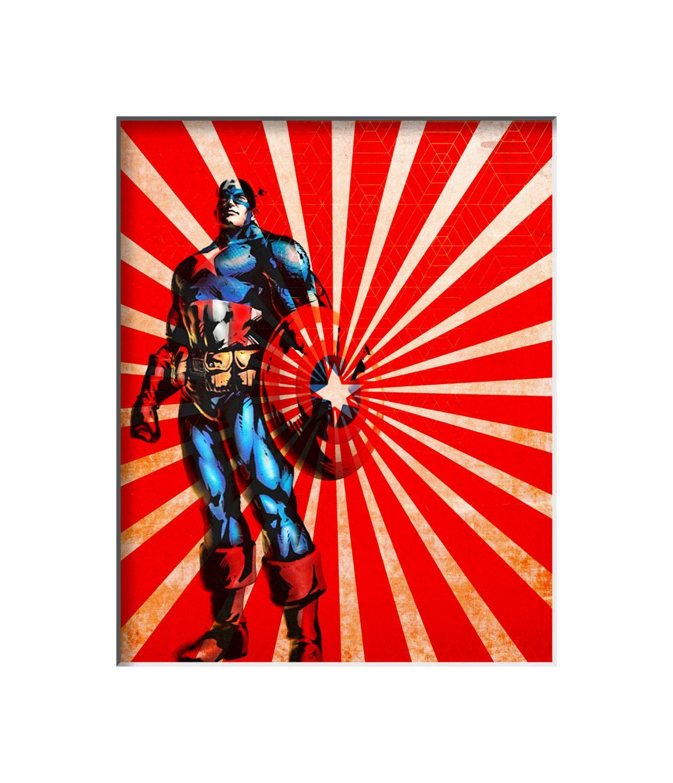 vintage superhero posters |     Superhero - Vintage Retro