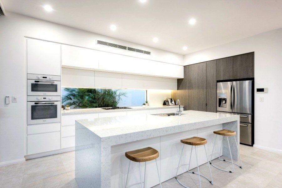 Modern Kitchen All White Kitchen Ideas The Life Creative Window