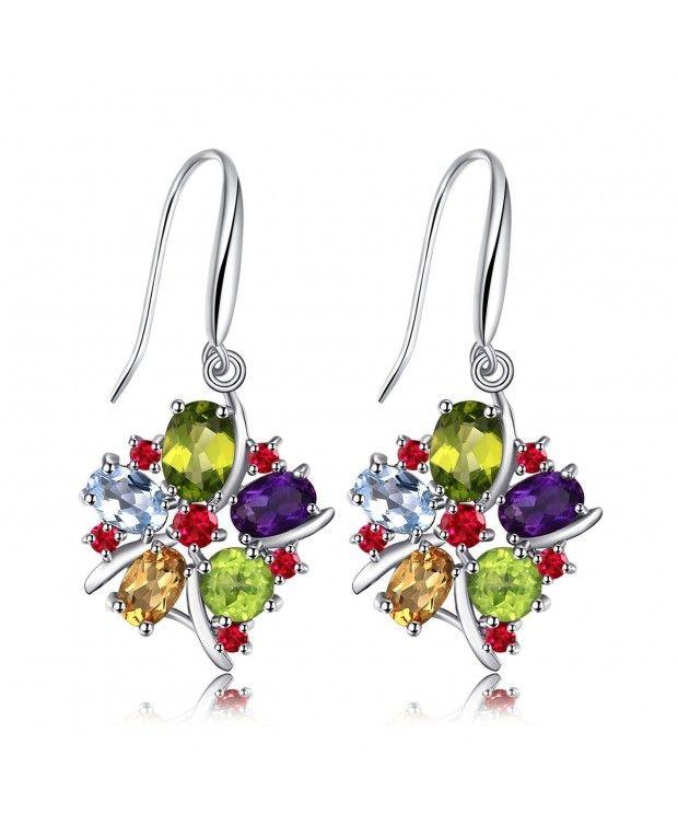 Multicolor Amethyst Earrings Sterling - C812FM1RYMP ...