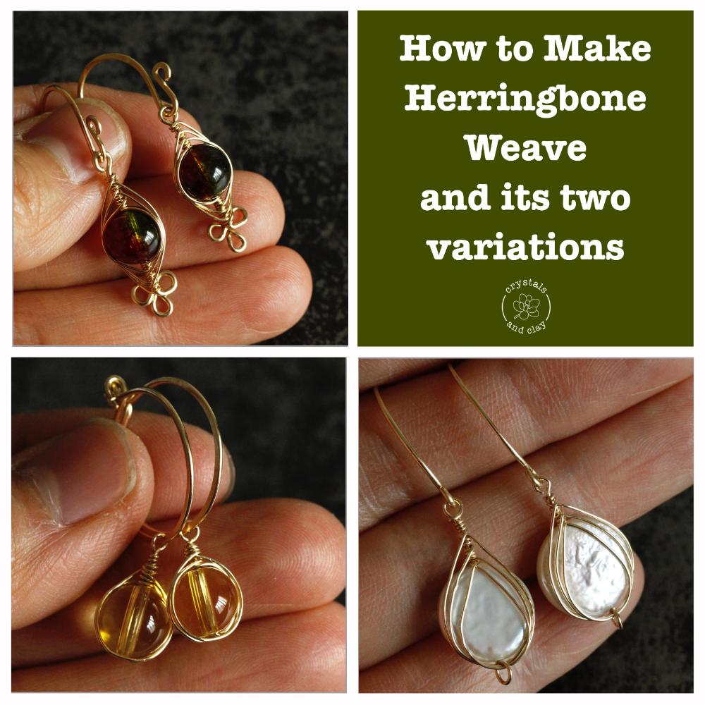 Photo of Jewery making basics 6 — Herringbone weave and its two variations