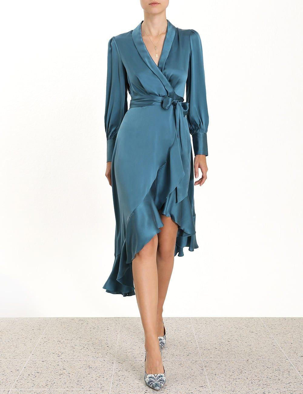30+ Silk wrap dress information