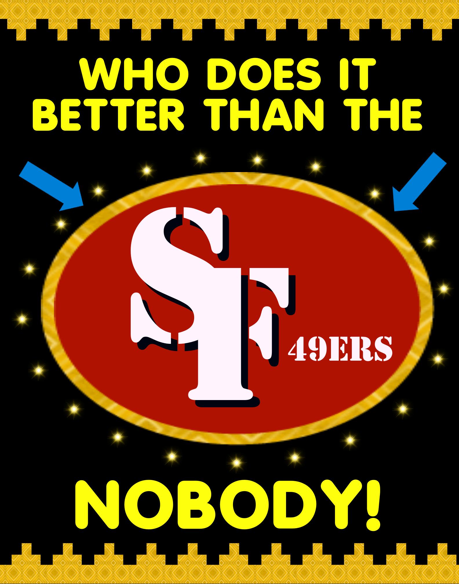 49ers Poster Idea 49ers, San francisco 49ers football