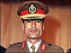 Many people might not recognize ths young military officer as Muammar Gadaffi.  Although he later seemed a villanous character cut straight from a Hollywood casting studio, he looked quite different during the early days when he seized power