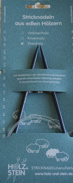 Rundstricknadel - Ebenholz (Wolle & Design - kreatives Stricken)