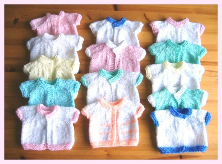 Der Neuen Baby Stricken | Baby cardigan knitting pattern ...