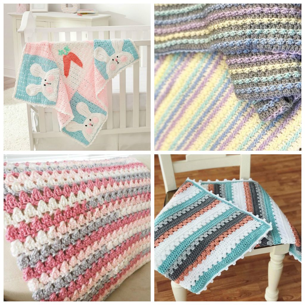 15 Free Easy Crochet Baby Blanket Patterns Perfect For ...