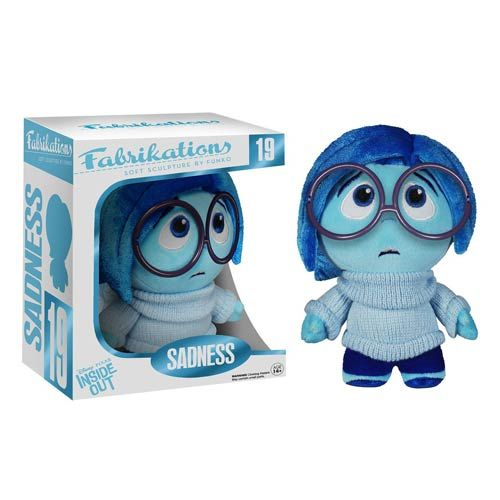 Inside Out Sadness Disney-Pixar Fabrikations Plush Figure - Funko - Inside Out - Plush at Entertainment Earth