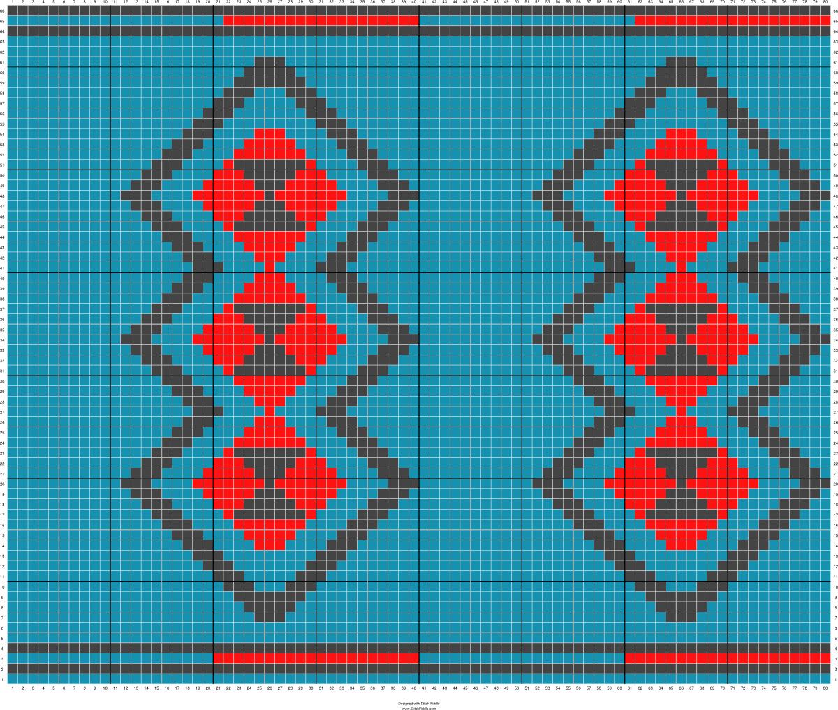Ruitmotief rood, zwart blauw   wayuu şablon   Pinterest   Tapestry ...
