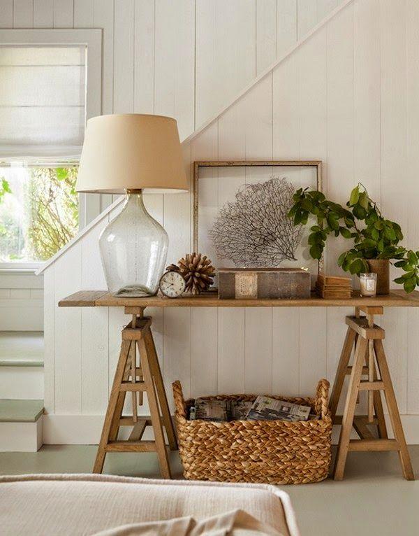 Hall de entrada r stico estilo r stico hall de entrada - Como decorar una casa rustica ...