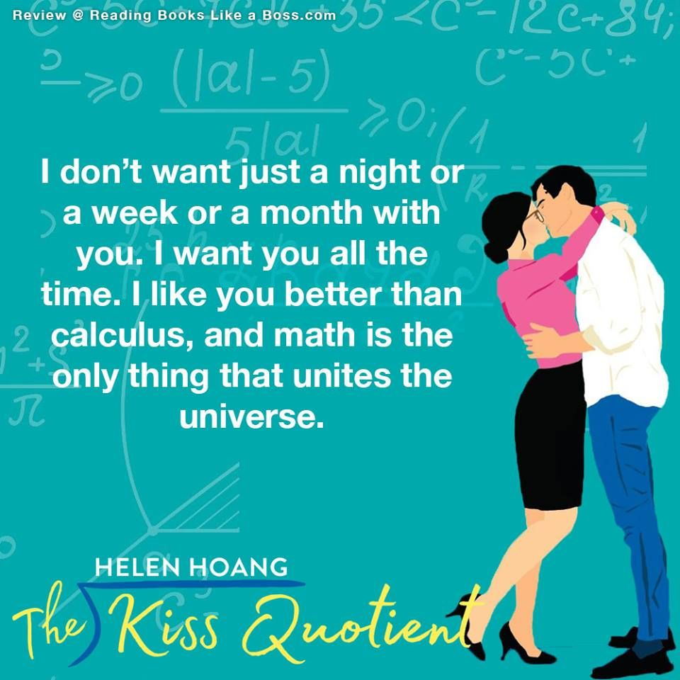 Book Review The Kiss Quotient By Helen Hoang Book Quotes