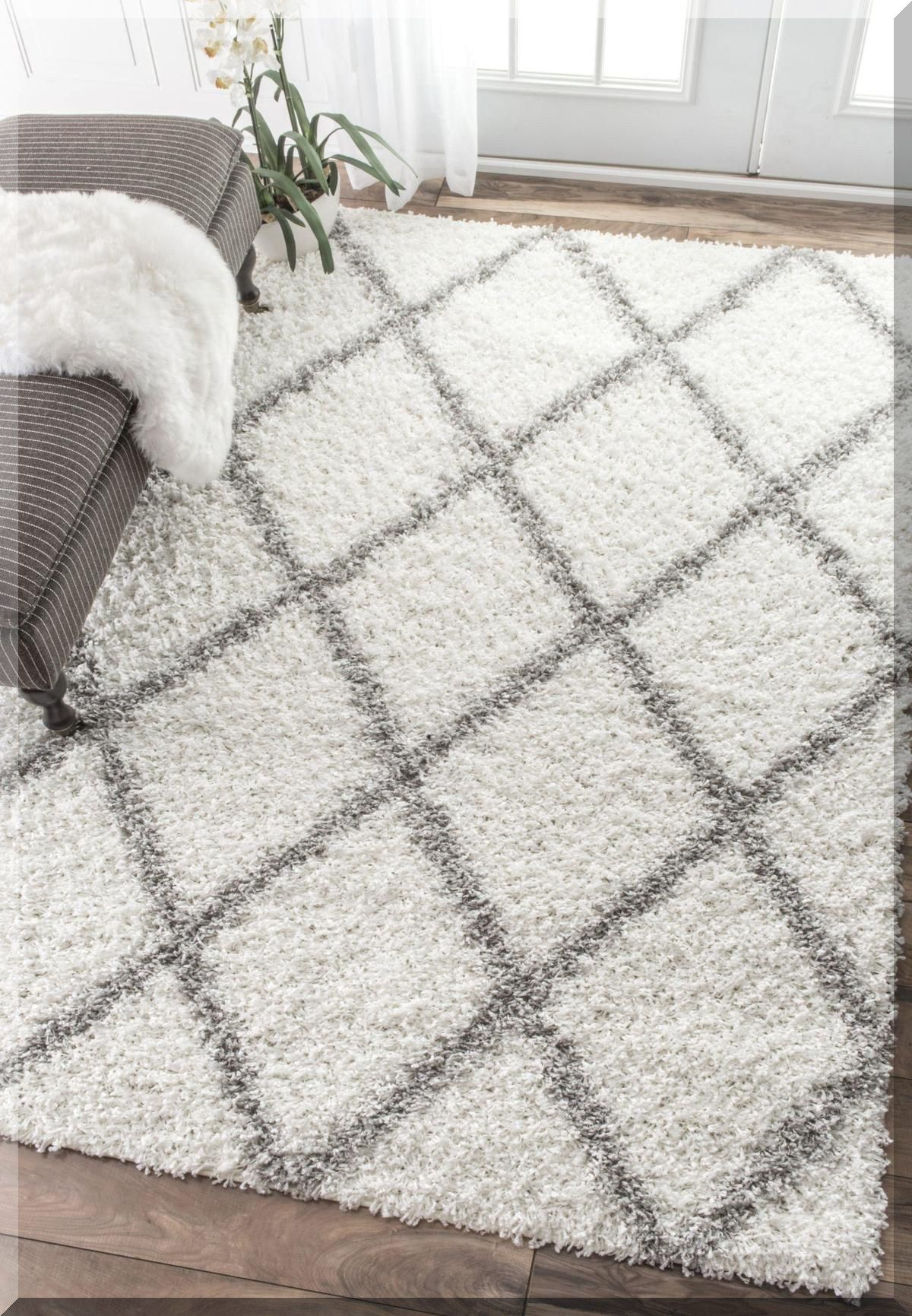Ppinss Plush Pearl Rug Afaw Thick Pile Shaggy Rug How To Make Your Own Shaggy Rugs In 2020 Rugs In Living Room White Area Rug Living Room Living Room Area Rugs #thick #rug #for #living #room