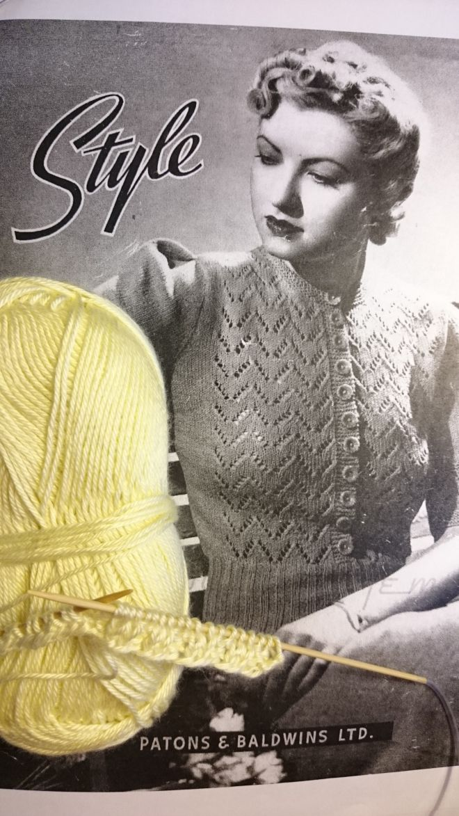 84bd5eea7 Daffodil pattern link and newly knitted version! Daffodil