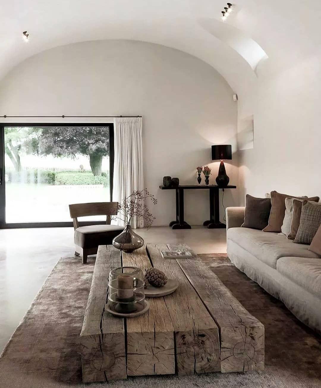 N A T H A N L I N D B E R G On Instagram Beautiful Modern Rustic Interior Design Resi Rustic Interiors Interior Design Living Room Scandi Style Living Room [ 1305 x 1080 Pixel ]