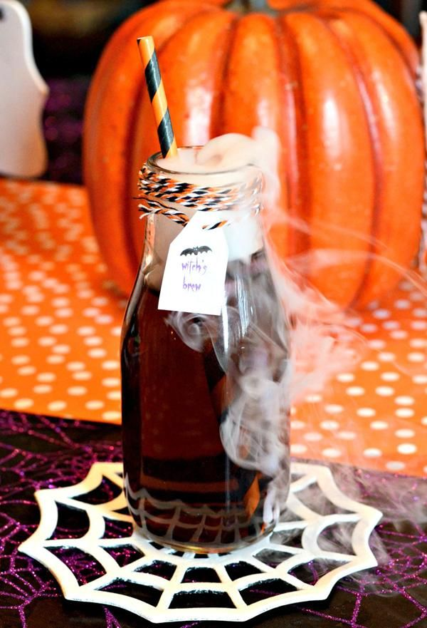 Witch's Brew Recipe + FREE Halloween Party Printables