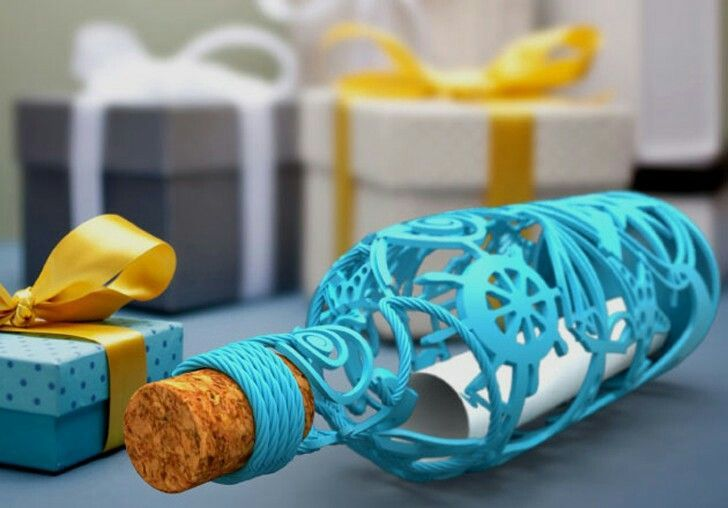 Cool 3D printed bottle 3d drucker vorlagen, 3d drucker