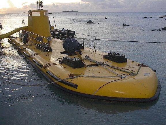 Decks Awash!: Tourist Submarine Blow Out Sale!