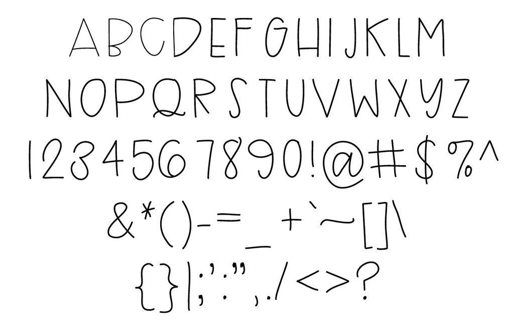 Uppercase Font  Fonts And Doodle Lettering