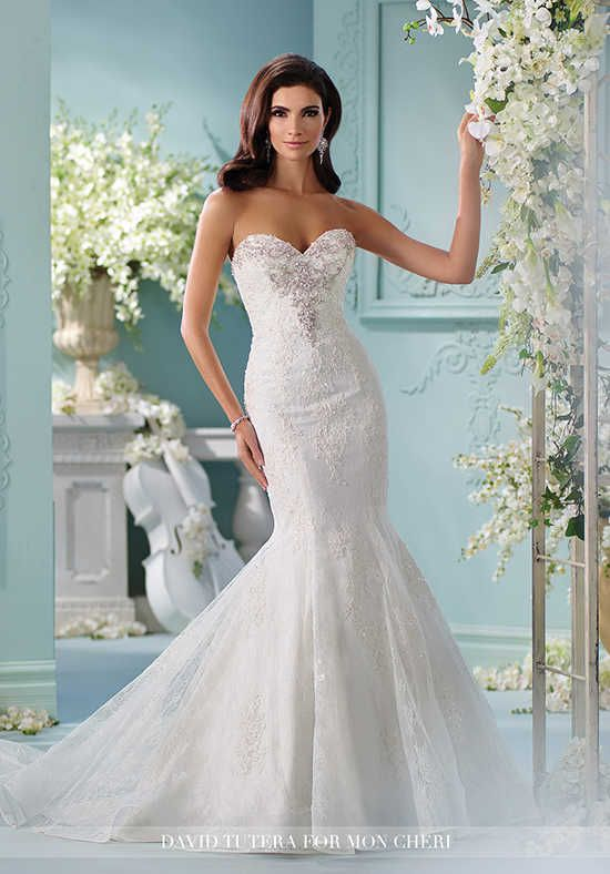 David Tutera for Mon Cheri 216253 Marina Wedding Dress photo | #1 ...