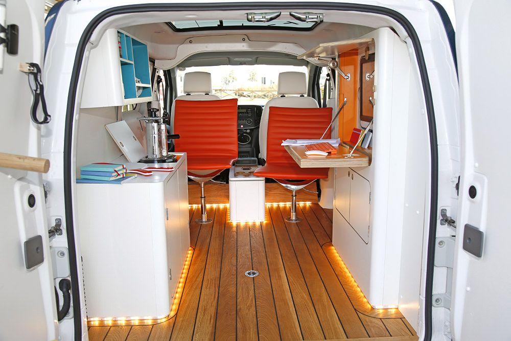 d couverte automobile e nv200 wokspace par nissan. Black Bedroom Furniture Sets. Home Design Ideas