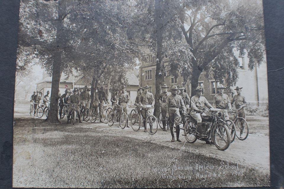 U.S. Marine Corps Officer's School Gettysburg August 1913. Original unpublished photo.