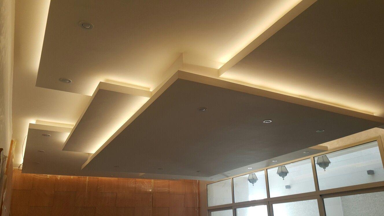 Alçıpan tavan: konut için tasarım