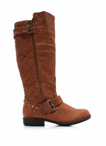 Quilted Back Riding Boots... love these for fall! | My Feet Can ... : quilted back boots - Adamdwight.com