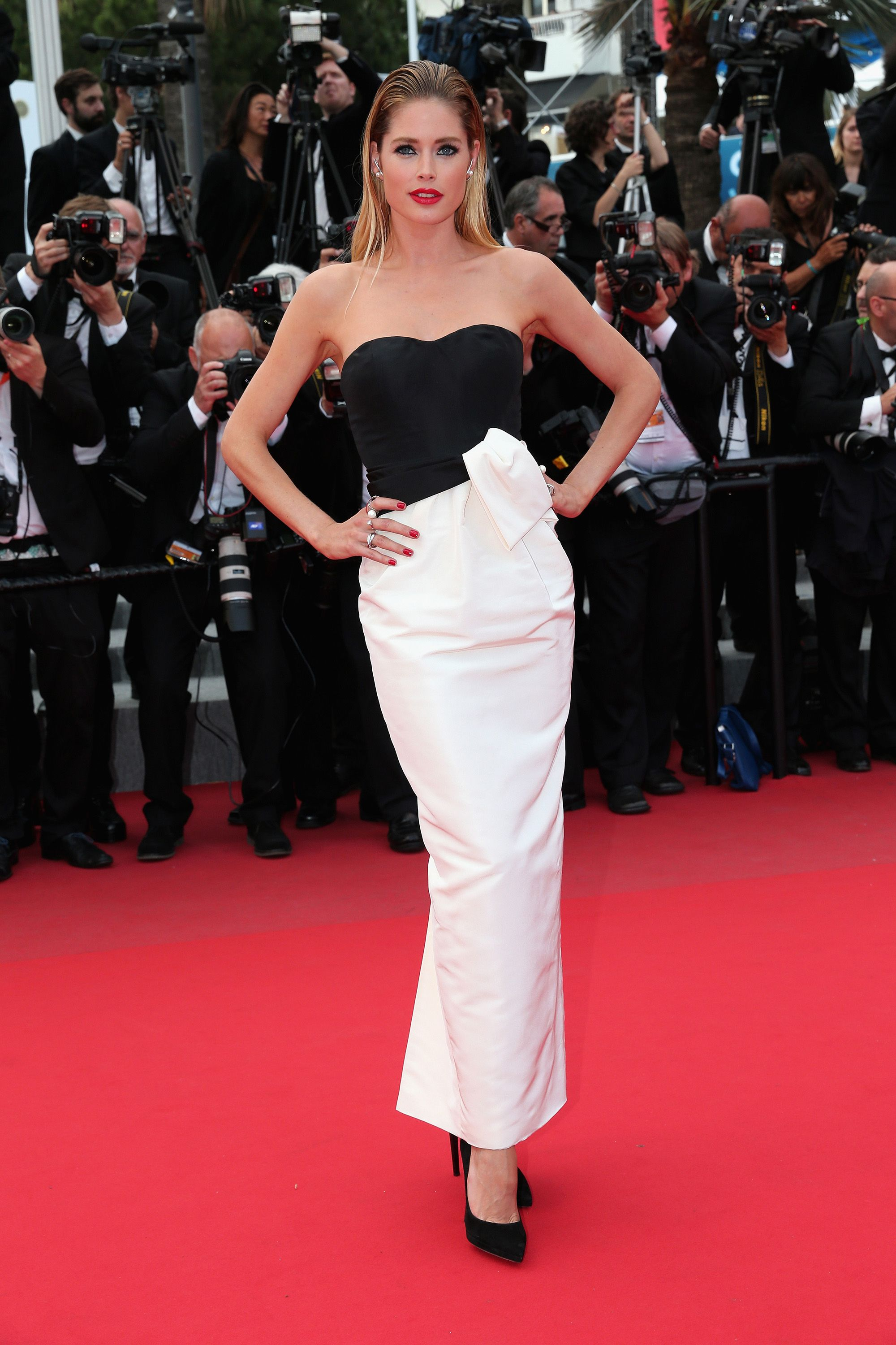 Roter Teppich Seitlich The Most Glamorous Style Spotted At The Cannes Film Festival
