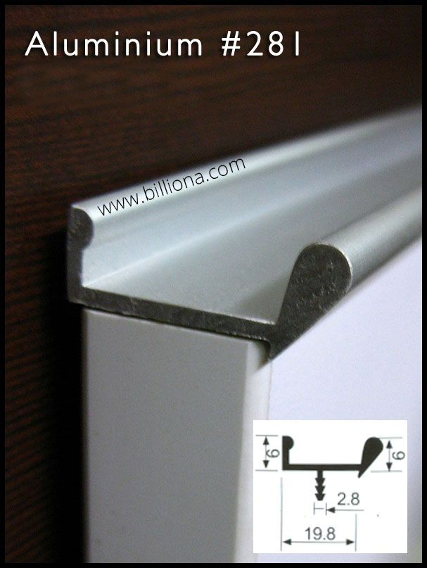 Continuous Drawer Pulls Hb380 Drawer Pull Handb2012