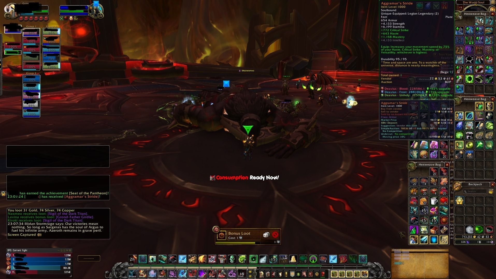 Aggramar's Stride Straight from the Source #worldofwarcraft