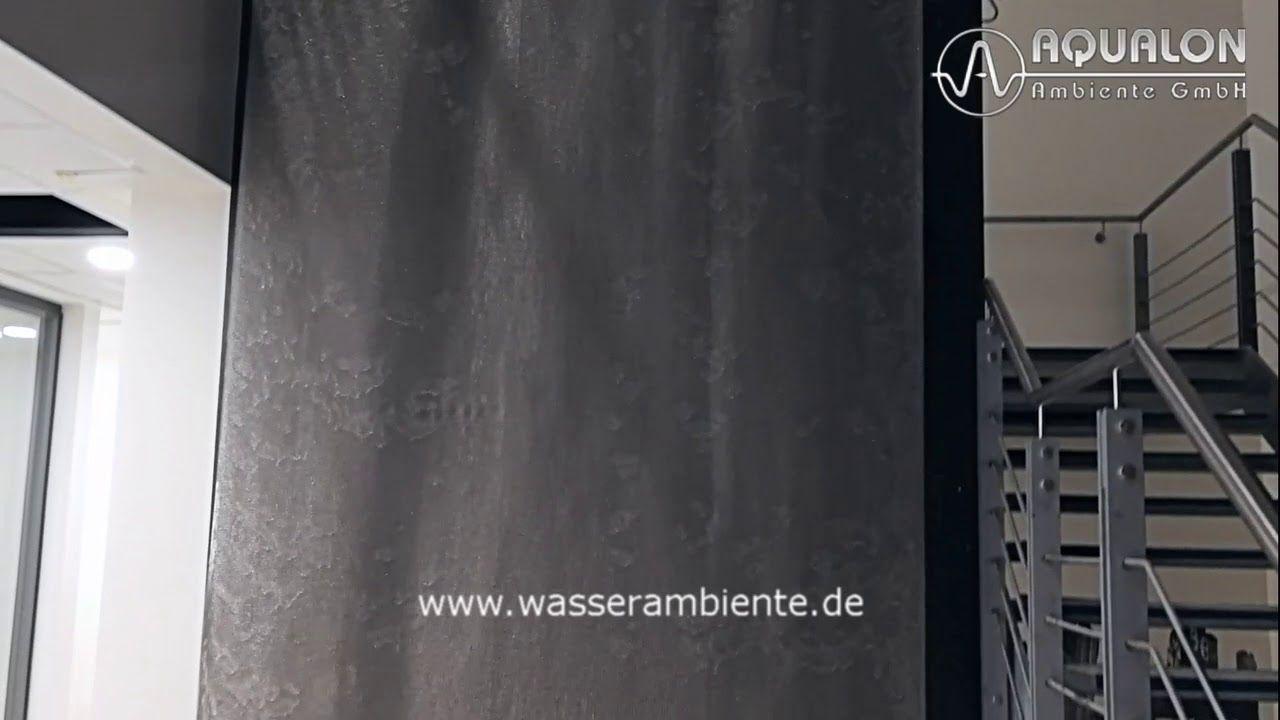 Wasserwand Aqualon Skyfall Aus Edelstahl Ringgewebe Wasserwand Gewebe Wasser