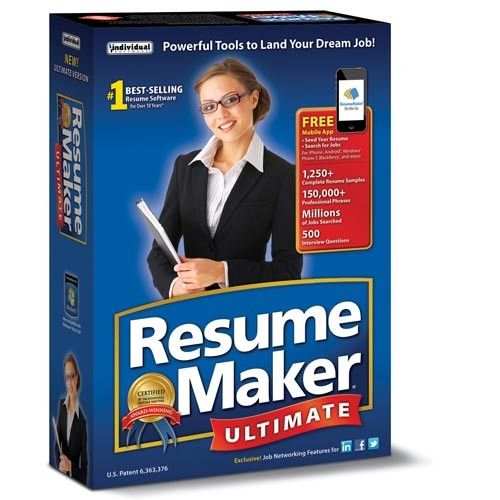 Resume Maker Ultimate - Software Download Purch Marketplace - resume maker software