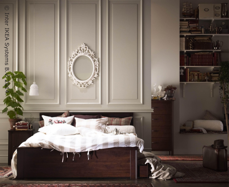 Los muebles de dormitorios brusali de perfles suaves y curvados en