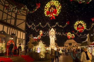 Celebrate the Holidays at Christmas Town: Busch Gardens Williamsburg