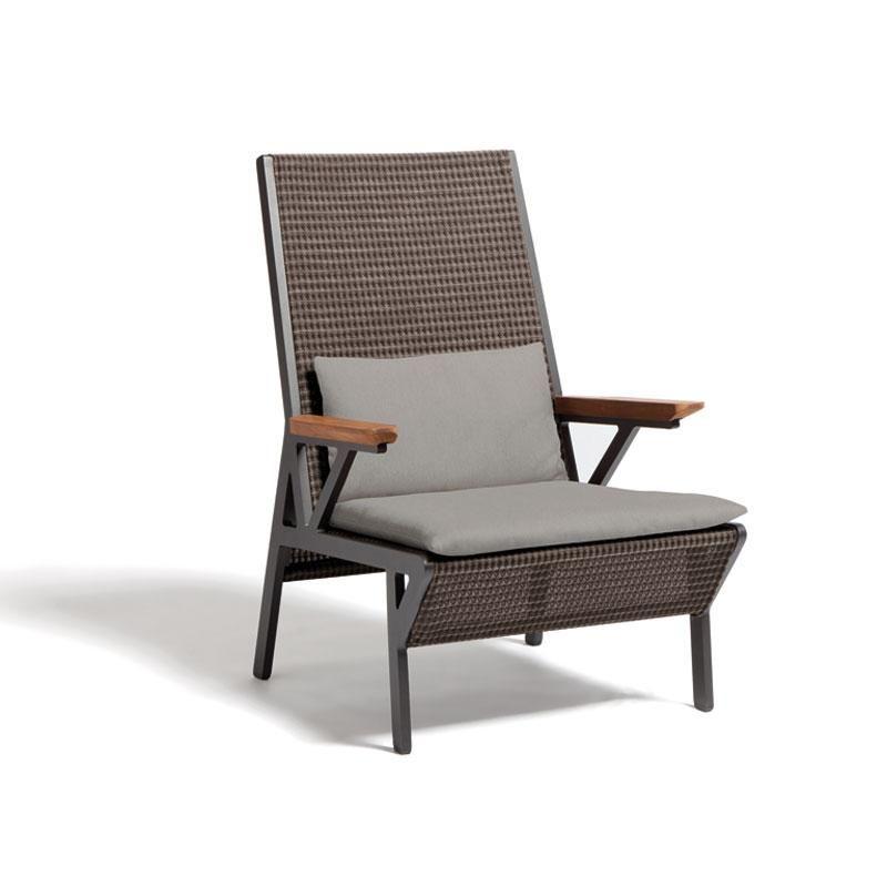 Kettal vieques club armchair sillas y sillones for Kettal muebles