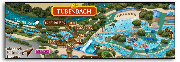 Resort Map Schlitterbahn New Braunfels Texas Kind Of