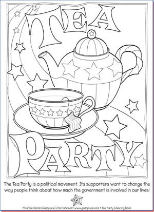 tea party coloring pages google search - Princess Tea Party Coloring Pages