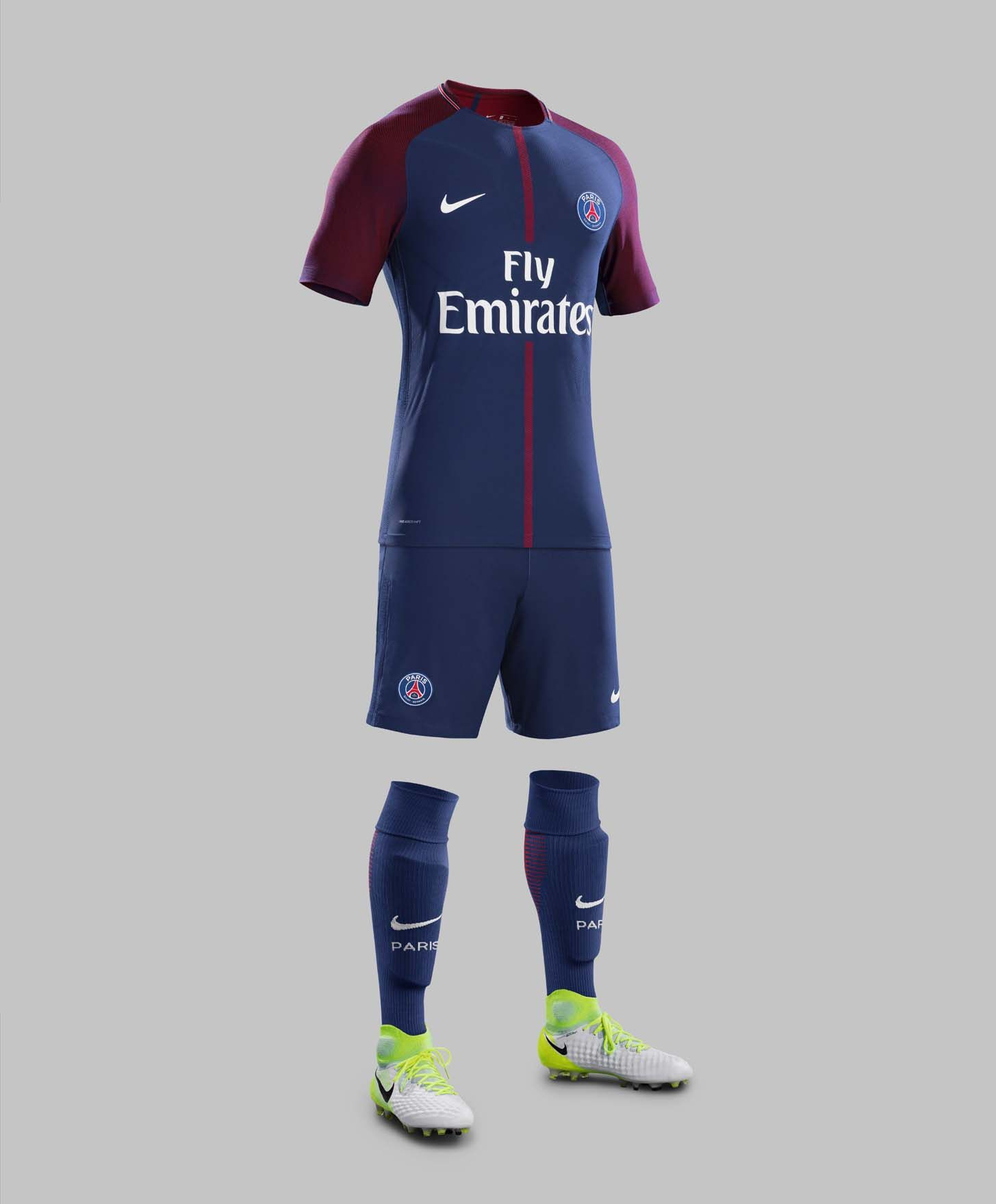 The PSG home kit introduces a more vibrant, bolder look than most recent  ones. It& once again made by long-term PSG jersey supplier Nike.