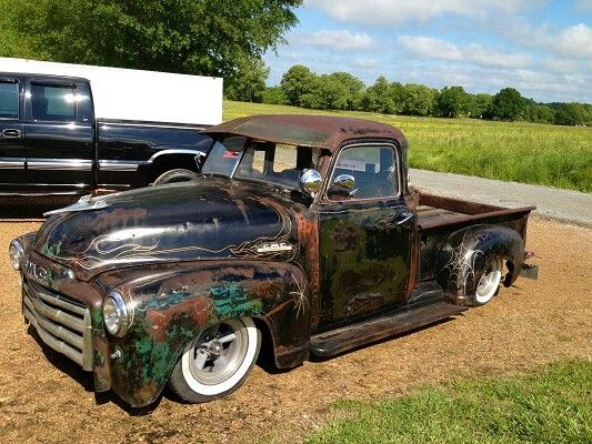 Patina paint cool truck