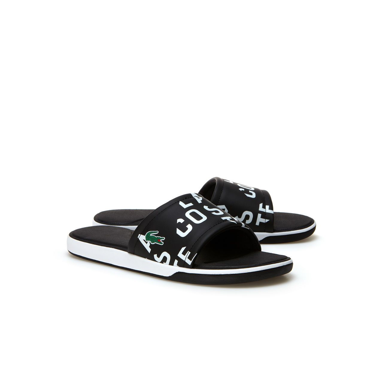 25cac9ae LACOSTE SLIDERS // Slide into Summer at USC! | USC ♡s Sliders in ...