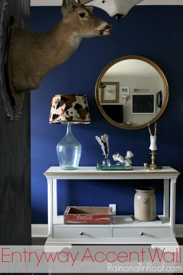 Best Accent Wall Rich Navy Entryway Navy Accent Walls Navy 400 x 300