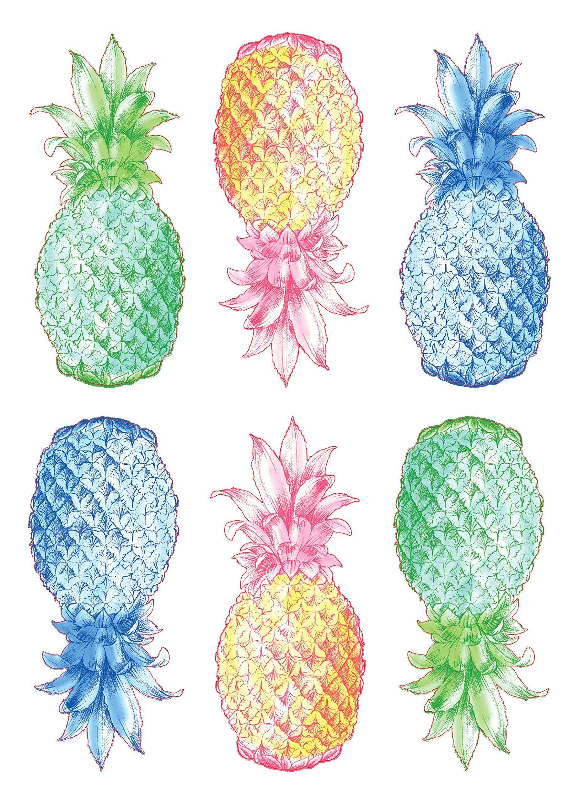 Wall Pops Dwpk2171 Pop Pineapples Wall Art Kit Make Certain To