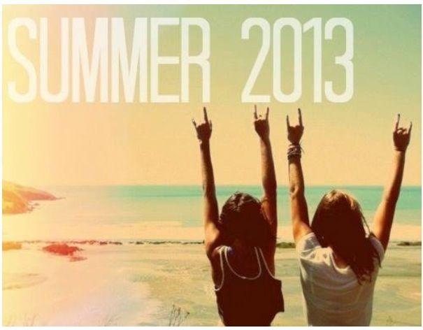 Summer 2013 countdown!!