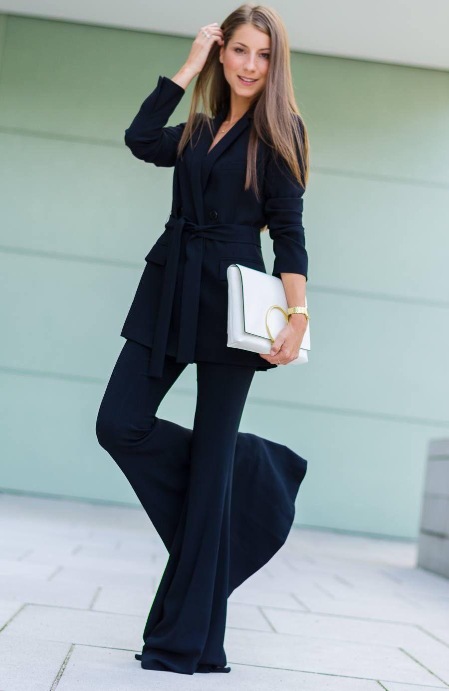 Langes abendkleid mit blazer
